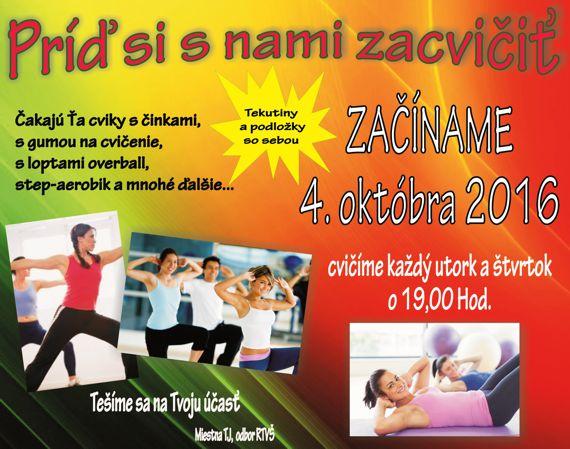 Cvičenie v telocvični